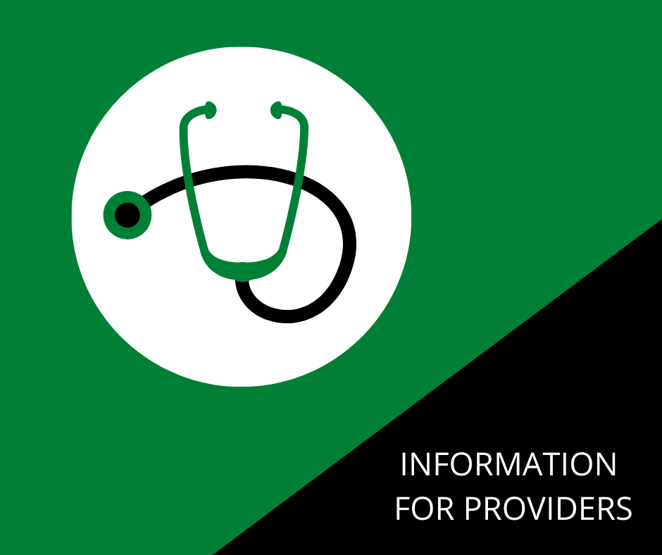 INFORMATION FOR PROVIDERS - WEB IMAGE