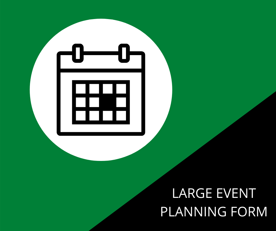 LARGE EVENT PLANNING FORM